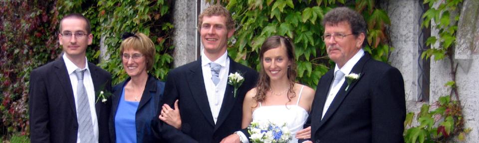 13.08.2008, Irland, Cork, Sarah und Padraig heiraten